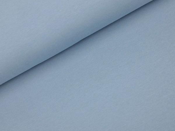 Bündchen dusty blau uni