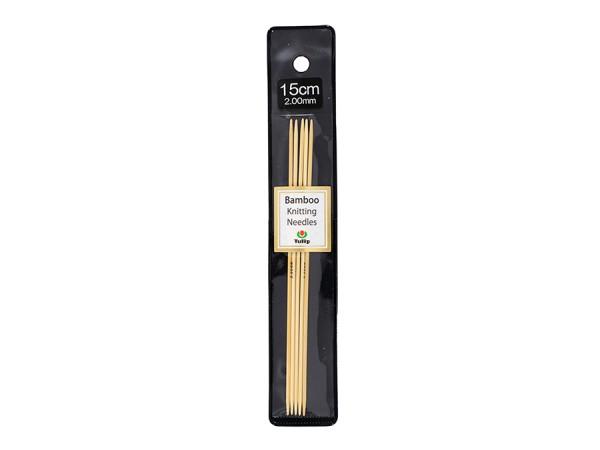 2,0 mm Nadelspiel 15cm / Holz, Bambus