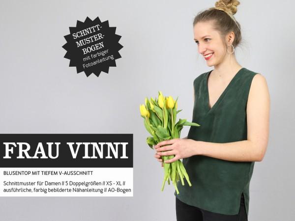 Schnittmuster Frau Vinni / Bluse V- Ausschnitt / Studio Schnittreif