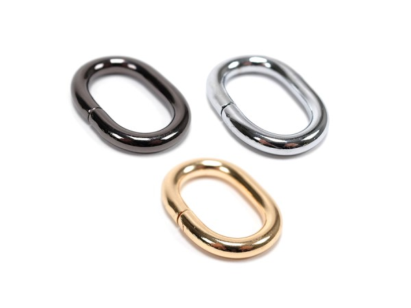 25mm Ovalring Metall