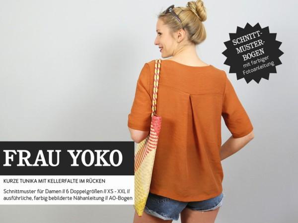 Schnittmuster Frau Yoko / Shirt, Pullover / Studio Schnittreif