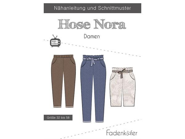 Schnittmuster Hose Nora / Damen / Fadenkäfer