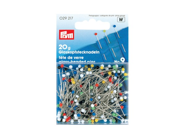 Prym Glaskopfstecknadeln Stahl 0.30mm x 0,60mm