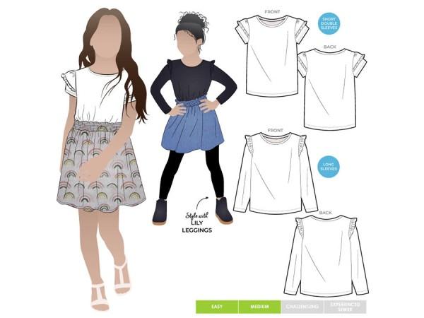 Schnittmuster Amalia / T-Shirt / Style Arc