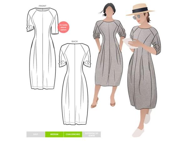 Schnittmuster Gertrude / Kleid / Style Arc
