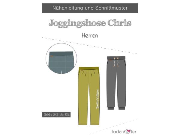 Schnittmuster Chris / Herren Jogginghose / Fadenkäfer