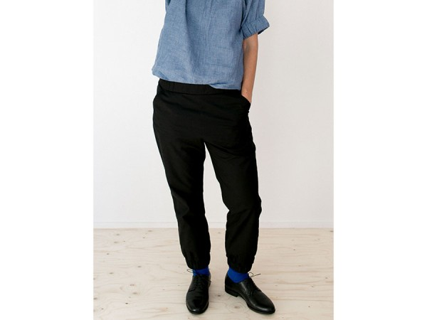 Schnittmuster Almost Long Trousers / Stoff-Hose Damen Englisch