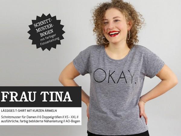 Schnittmuster Frau Tina / Basicshirt / Studio Schnittreif