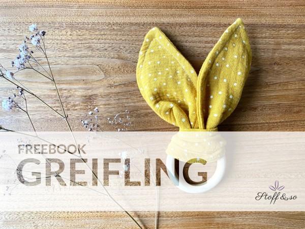 Freebook Greifling Hase / Gratis Schnittmuster / Stoff&so