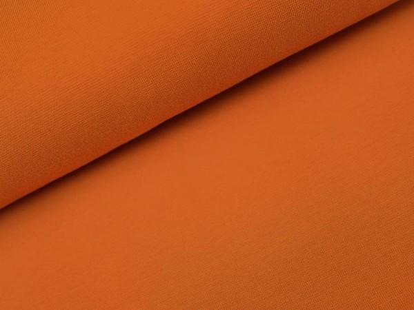 Bio Bündchen dunkel orange uni