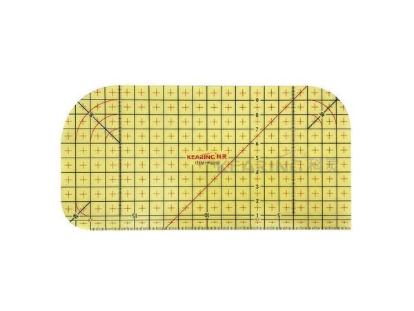 Handmass / Lineal breit / bügelbar