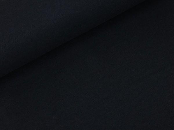 Bündchen schwarz uni