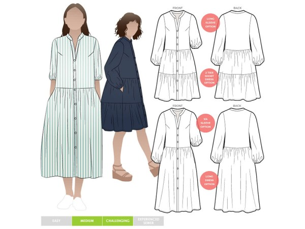 Schnittmuster Emerson / Kleid / Style Arc