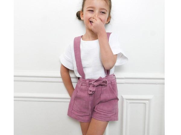 Schnittmuster Avana / Hose, Kurze Hose Mädchen / Ikatee